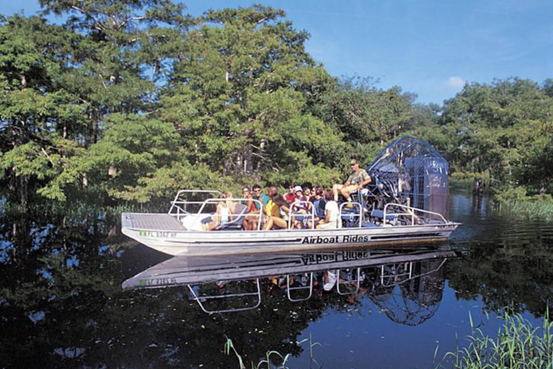 Kennedy Space Center and Airboat Safari